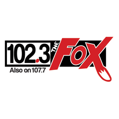 102.3 The Fox logo
