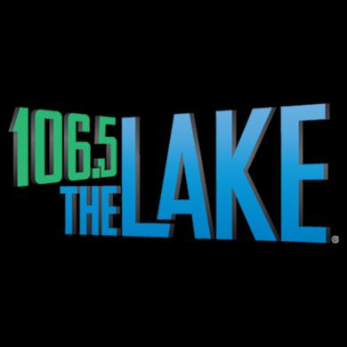 106.5 The Lake logo
