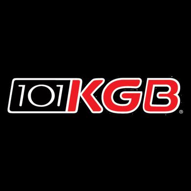 KGB 101.5 logo