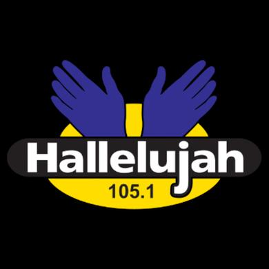 105 Hallelujah FM logo
