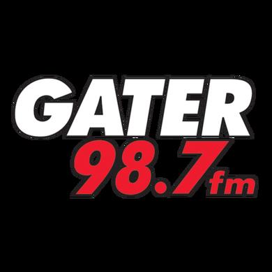 98.7 The Gater logo
