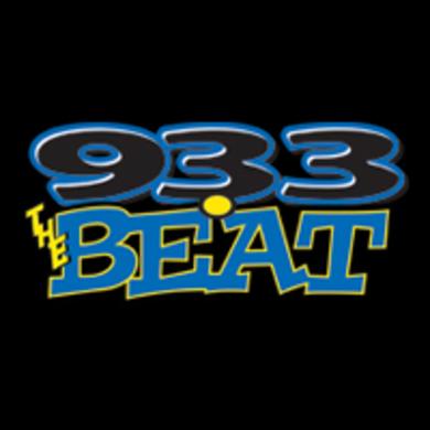 93.3 The Beat logo