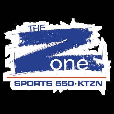 ESPN 550 The Zone Alaska logo