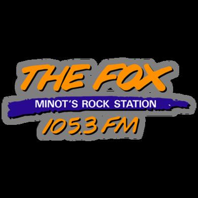 105.3 The Fox logo
