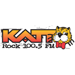 Rock 100.5 The KATT logo