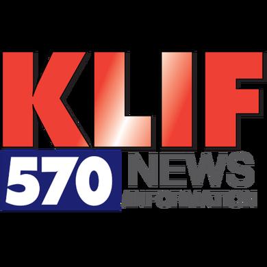 570AM KLIF logo