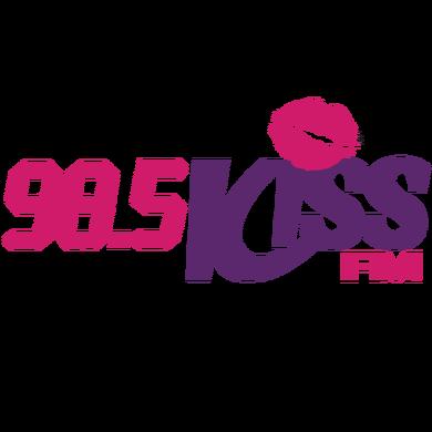 98.5 Kiss FM logo