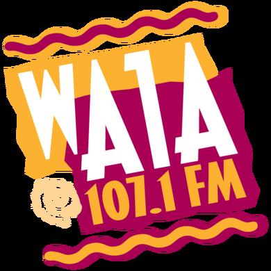 107.1 A1A logo