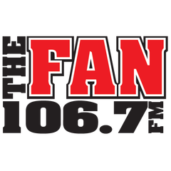 106.7 The Fan logo