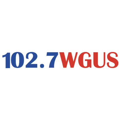 102.7 & 93.1 WGUS logo