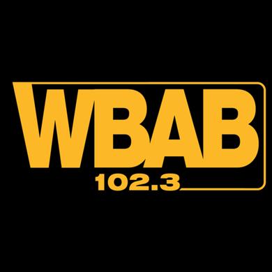 102.3 WBAB logo