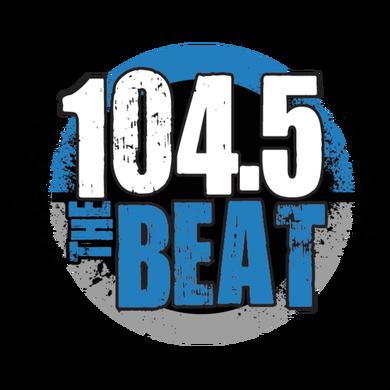 104.5 The Beat logo