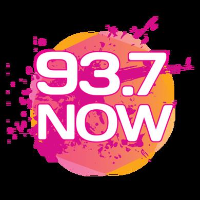 93.7 Now Harrisonburg logo