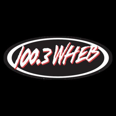 100.3 WHEB logo