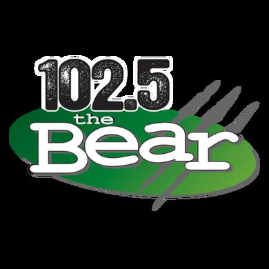 The Bear 102.5 logo