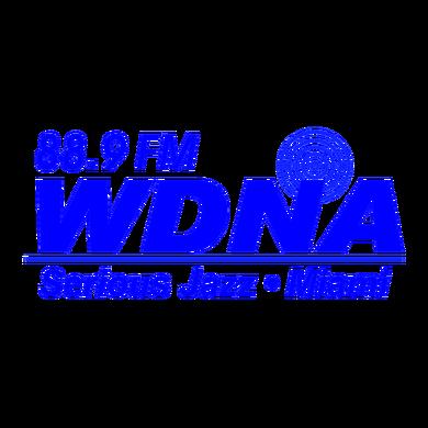 WDNA 88.9FM Serious Jazz logo