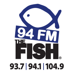 94 FM The Fish logo