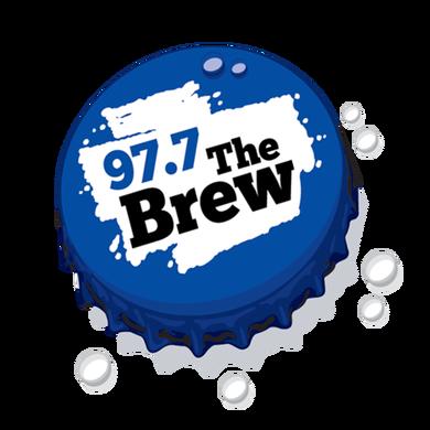 97.7 The Brew logo