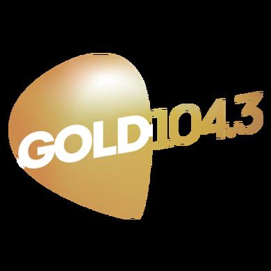 GOLD 104.3 logo