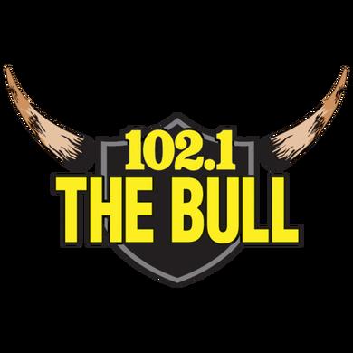 102.1 The Bull logo