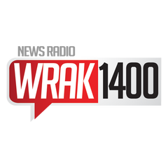 News Radio 1400 WRAK logo