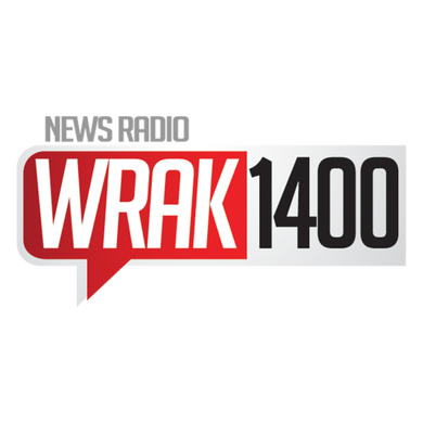 WRAK 1400 AM logo