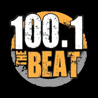 100.1 The Beat logo