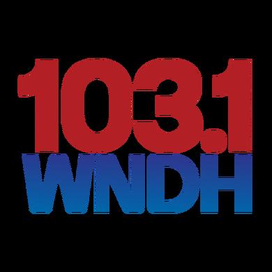 103.1 WNDH logo