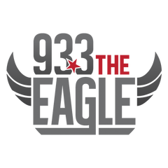 93.3 The Eagle logo
