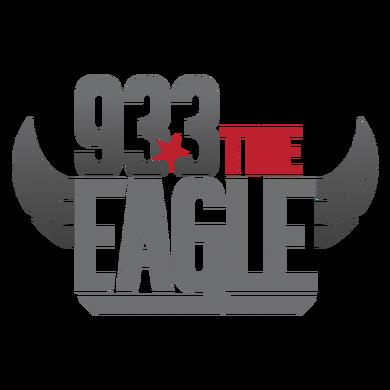 93.3 The Eagle logo