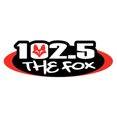 102.5 The Fox logo
