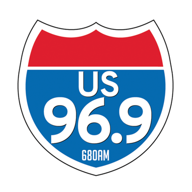 US 96.9 logo
