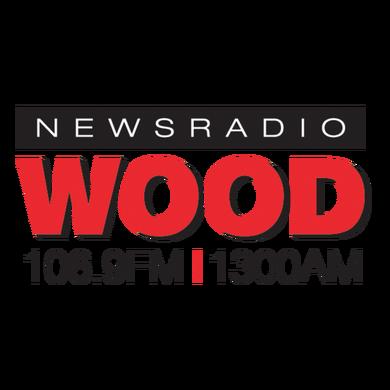 WOOD Radio 106.9 FM & 1300AM logo