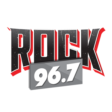 ROCK 96.7 logo