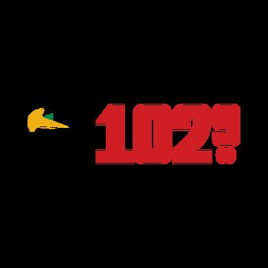Qué Buena 102.9  logo