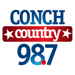 98.7 Conch Country logo