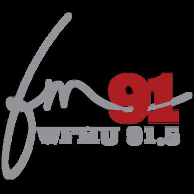 WFHU 91.5 the Lion logo