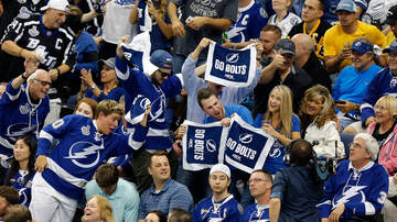 The Pat And Aaron Show - Joe Smith Details Tampa Bay Lightning Strong Man Workout