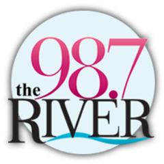 98.7 The River logo