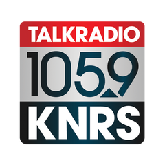 Talk Radio 105.9 KNRS logo