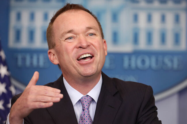 Mick Mulvaney (Credit Getty Images)