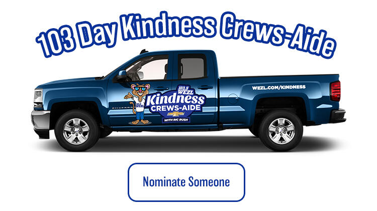Nominate Someone for 103 Days of Kindness