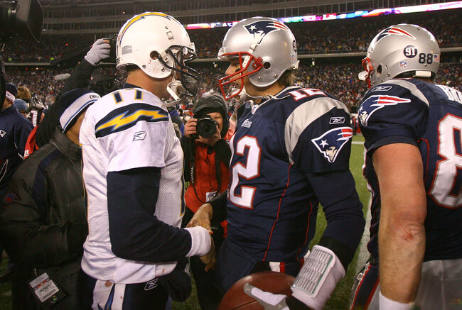 Tomy Brady, Philip Rivers, New England Patriots, LA Chargers