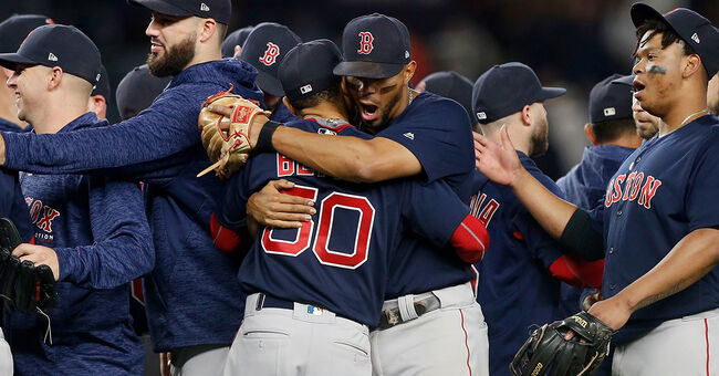 boston red sox clinch AL East