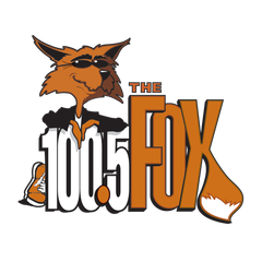 100.5 the FOX logo