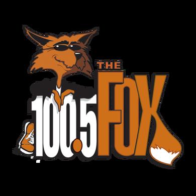 100.5 the FOX logo