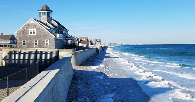 marshfield storm prep shoreline
