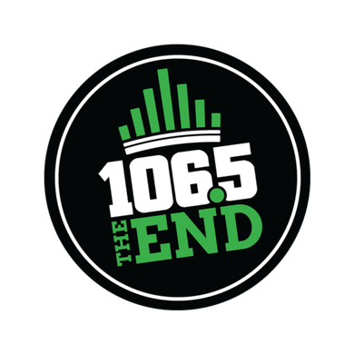 106.5 The End logo