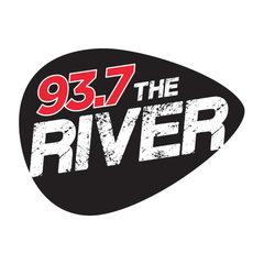 93.7 The River Sacramento logo