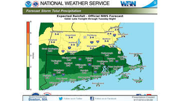 Storm Center - Remnants Of Florence Headed To New England; Flash Flood Watch In Effect